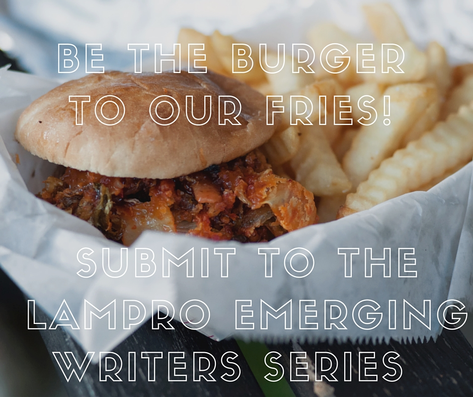 We want to be your date on Friday March 25th! Send us 6 pages of poetry, fiction, or non-fiction by 9 PM on March 11th to be considered. Readers get their first drink on the house at Bar Thalia, 8:00PM.   http://www.lamprophonic.com/emerging-writers/