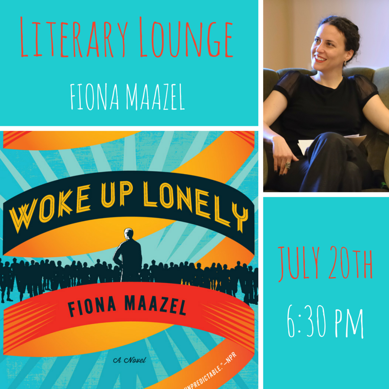 Join us in Riverside Park @ 62nd St (entrance @ 68th) next Monday! And check out an exclusive excerpt of  Woke Up Lonely  on  our website  right now!