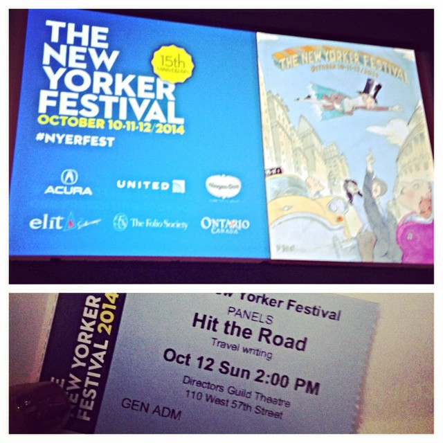Did you know that @shteyngart owns the cupcake beat in travel writing? #nyerfest #hittheroad #travelwriting #travel