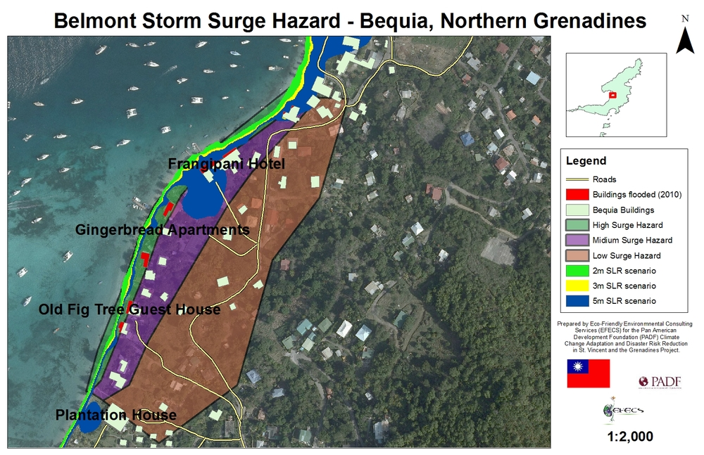 What is a Hazard Map? St. Vincent and the Grenadines Youth Explain ...