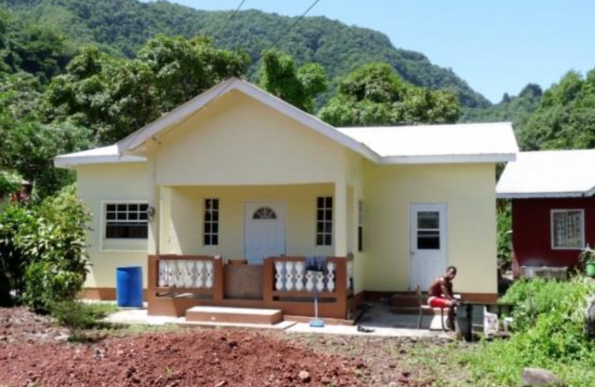 Sheila was able to rebuild her home with the help of her church