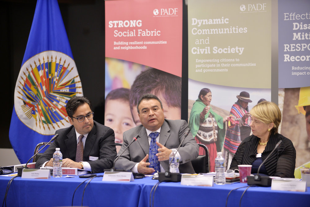 OAS Assistant Secretary General Opens PADF Board Meeting   Read more
