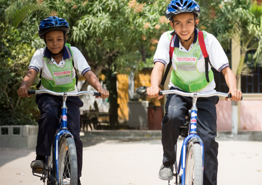 Bikes Keep Colombian Kids in School     Read more