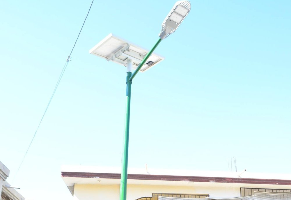 Solar-powered Street Lights