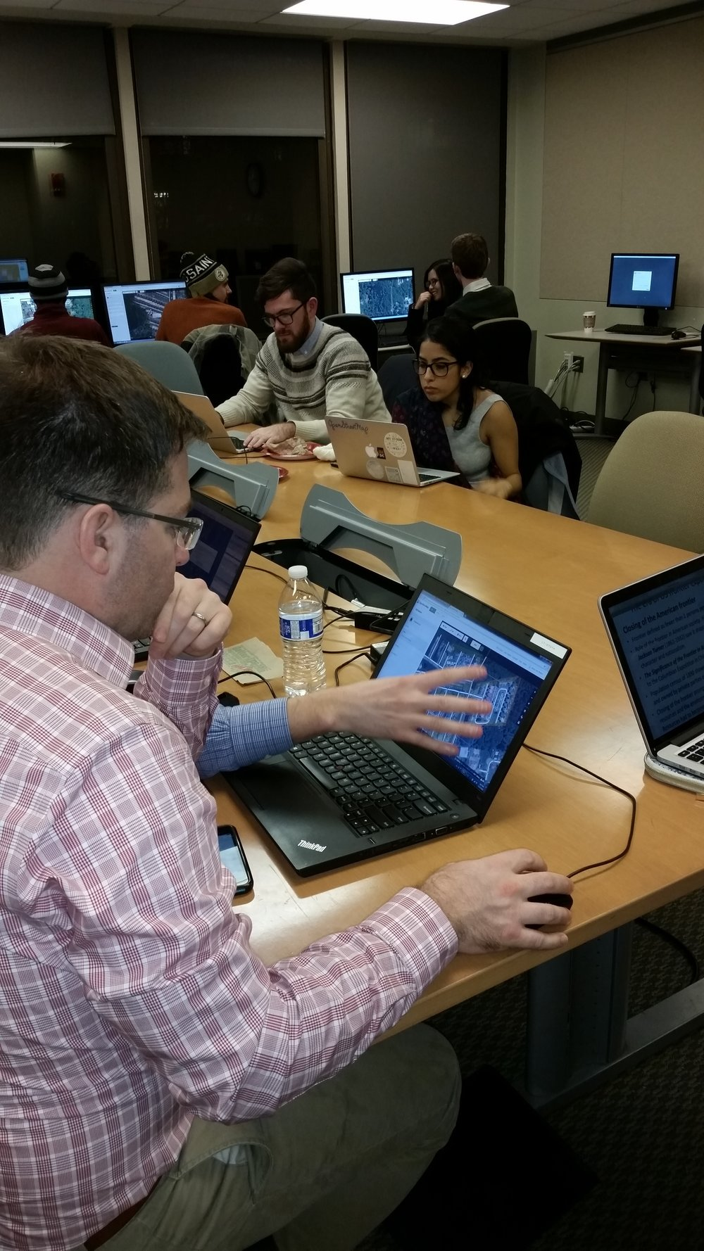 Mapathon at George Washington University