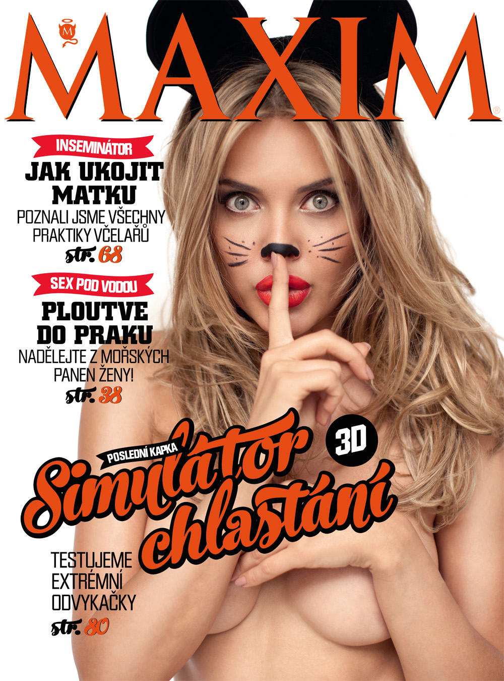 Maxim Cover shoot I did with Tatiana Veryovkina