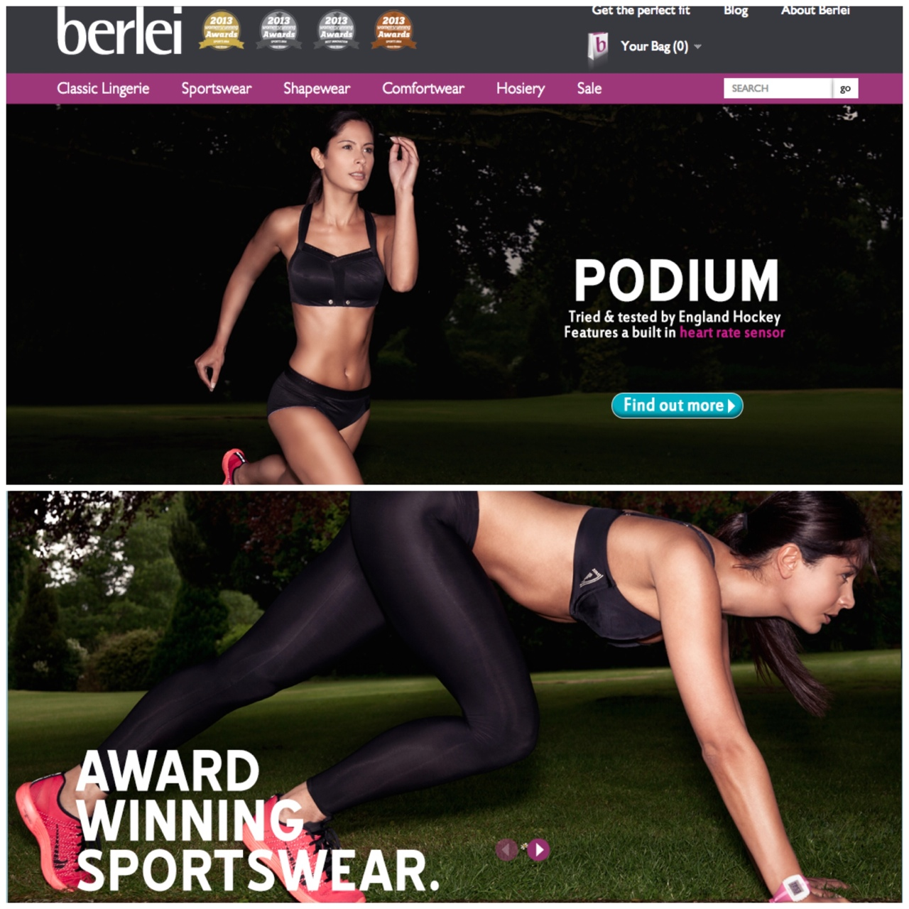 New Berlei Sportswear campaign I shot just went live at  http://www.berlei.com