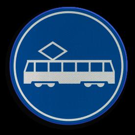 F15 - Rijbaan of -strook tram