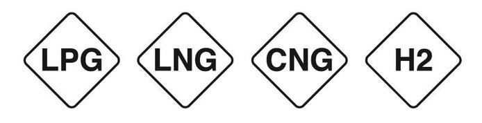 De nieuwe codes voor gasvormige brandstoffen.