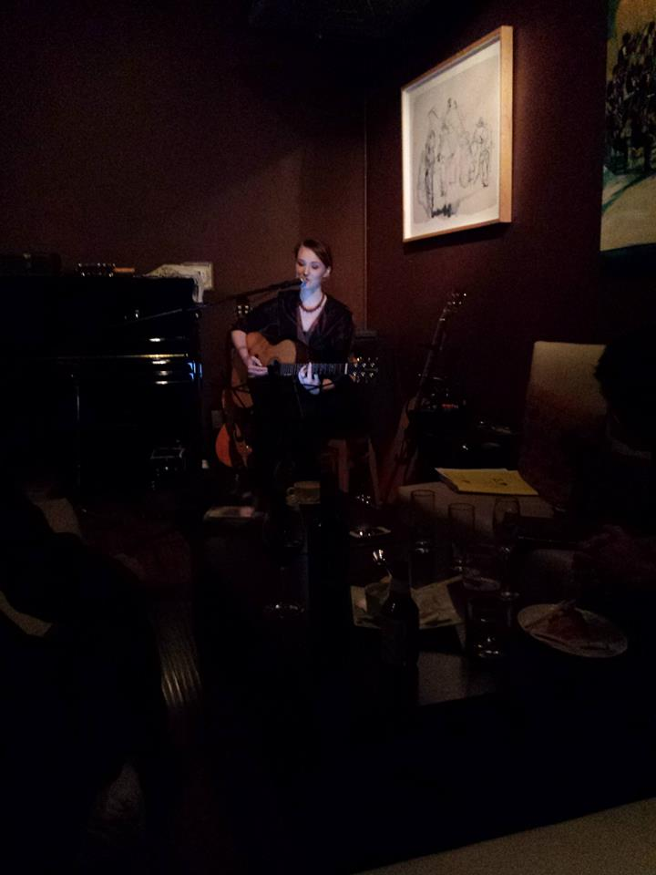 a shot from my recent show at Left Coast Wine Bar on May 22nd. Photos courtesy of Ann Chiu Jin