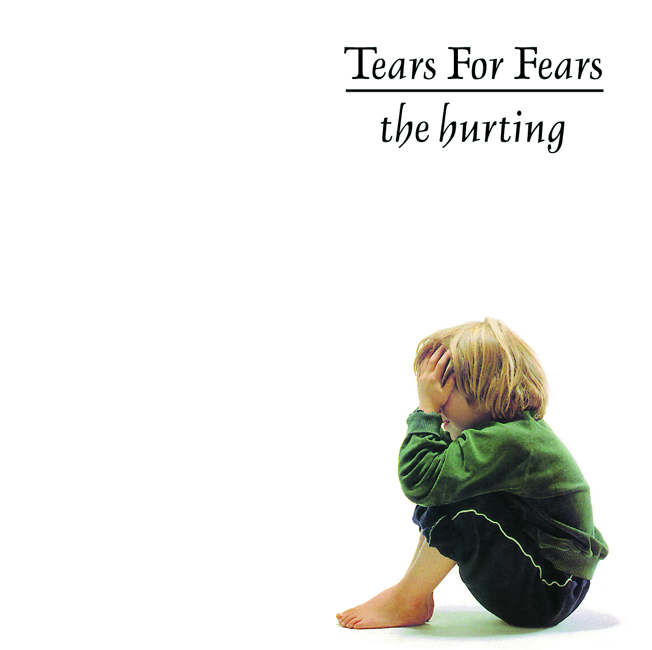 """tearsforfears :      """"I was asked by the band to sit for the picture when I was five or six. My mum took me to the studio in London. I think I was a bit freaked by all the cameras and stuff. There was a giant roll of white paper I had to sit in front of and I remember thinking if the paper in London is this big imagine what the pens must be like. Anyway in the image you see I'm supposed to be crying but actually I couldn't stop laughing.     Some time later Curt and Roland came to visit and my mum told me they had a special present for me to say thank you. I excitedly tore open the big brown paper flat thing to find a framed gold disc of the Hurting. I'm not sure how well if at all I managed to hide my disappointment - I guess I was expecting a toy or some sweets?    Anyway, 30 years on I can appreciate it a lot better so thanks and congrats!""""    Gebbie Serafin-Jaeger, the child from the iconic album cover for The Hurting"""