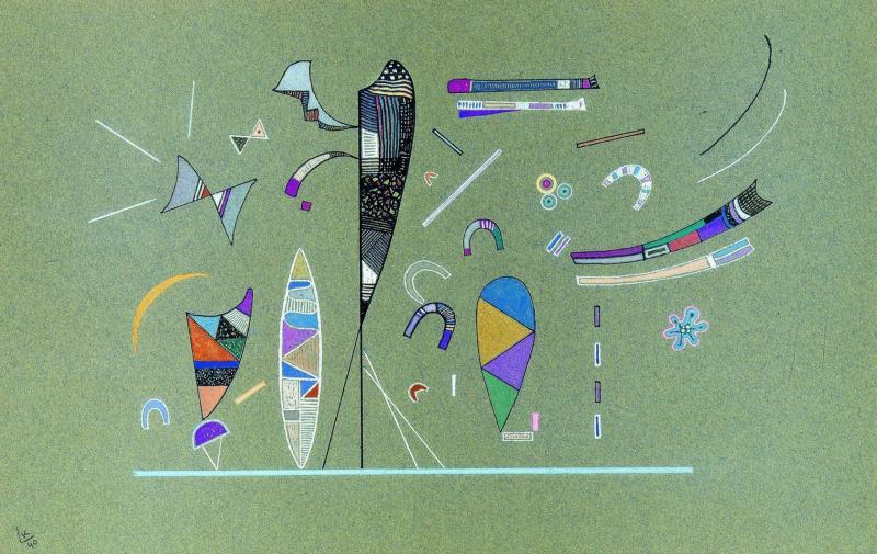 Wassily Kandinsky, Sans titre (Untitled), 1940