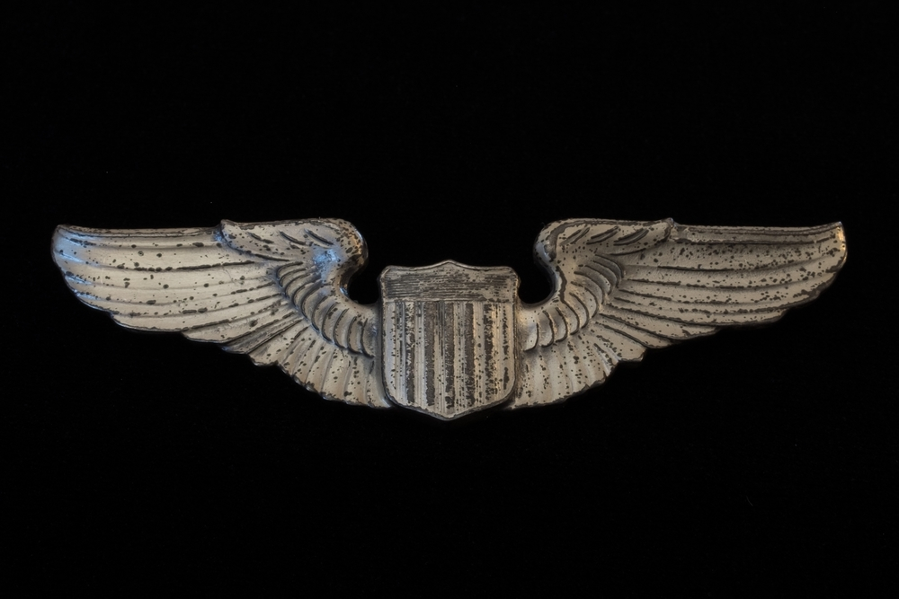 Charles Adams' Pilot Wings