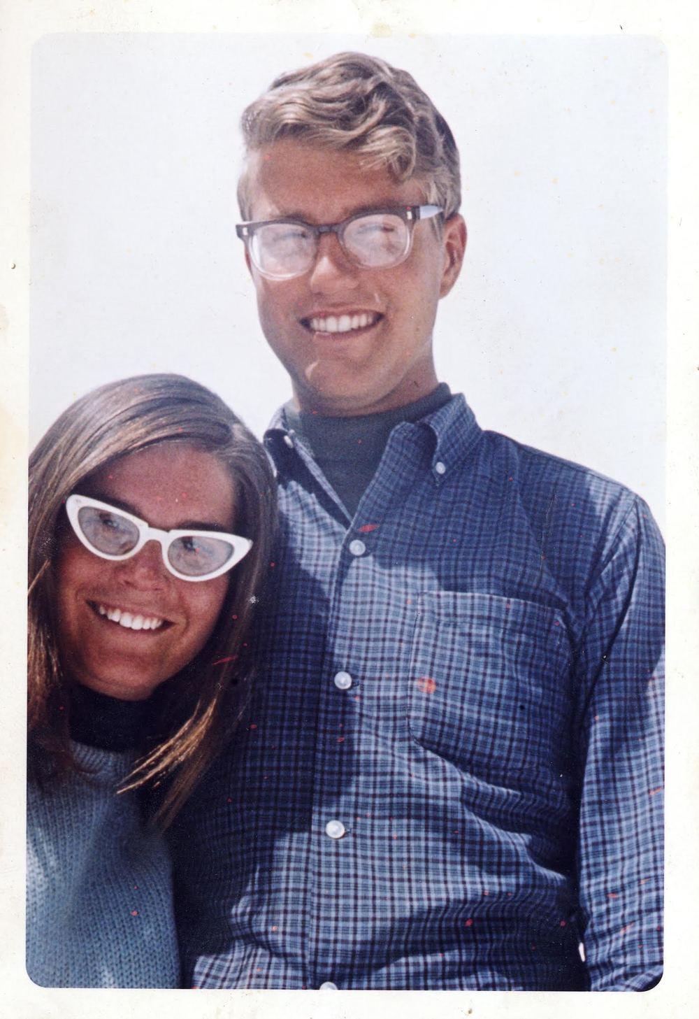 David and his wife, Susan, in 1966.