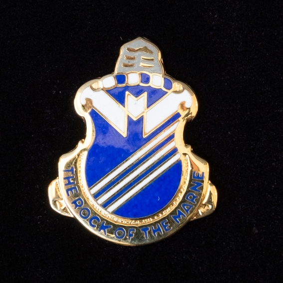 Toth's Regimental Insignia Pin