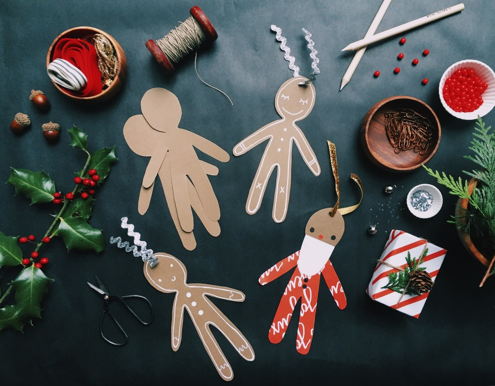GINGERBREAD ORNAMENT CRAFT