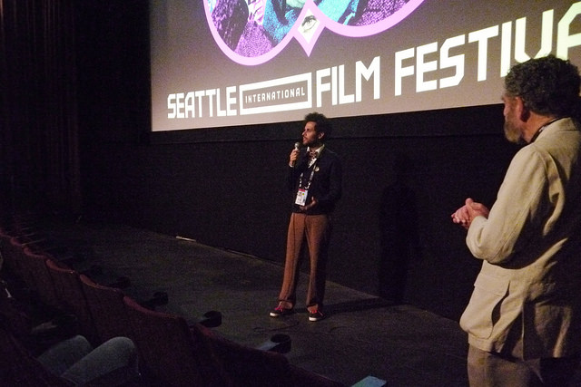 SIFF 2015 | Love Among the Ruins | June 4, 2015. Q&A with Richard Meyer and Massimo Alì Mohammad. Photo Credit: Kalani Akuna
