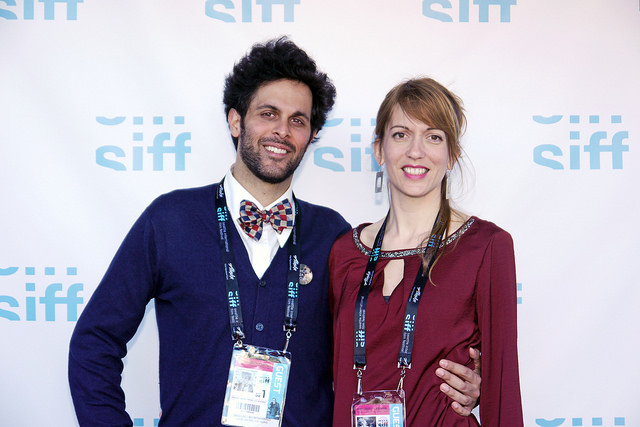 SIFF 2015 | Love Among the Ruins | June 4, 2015. Director Massimo Alì Mohammad and Art Director Elisa Leonini. Photo Credit: Kalani Akuna