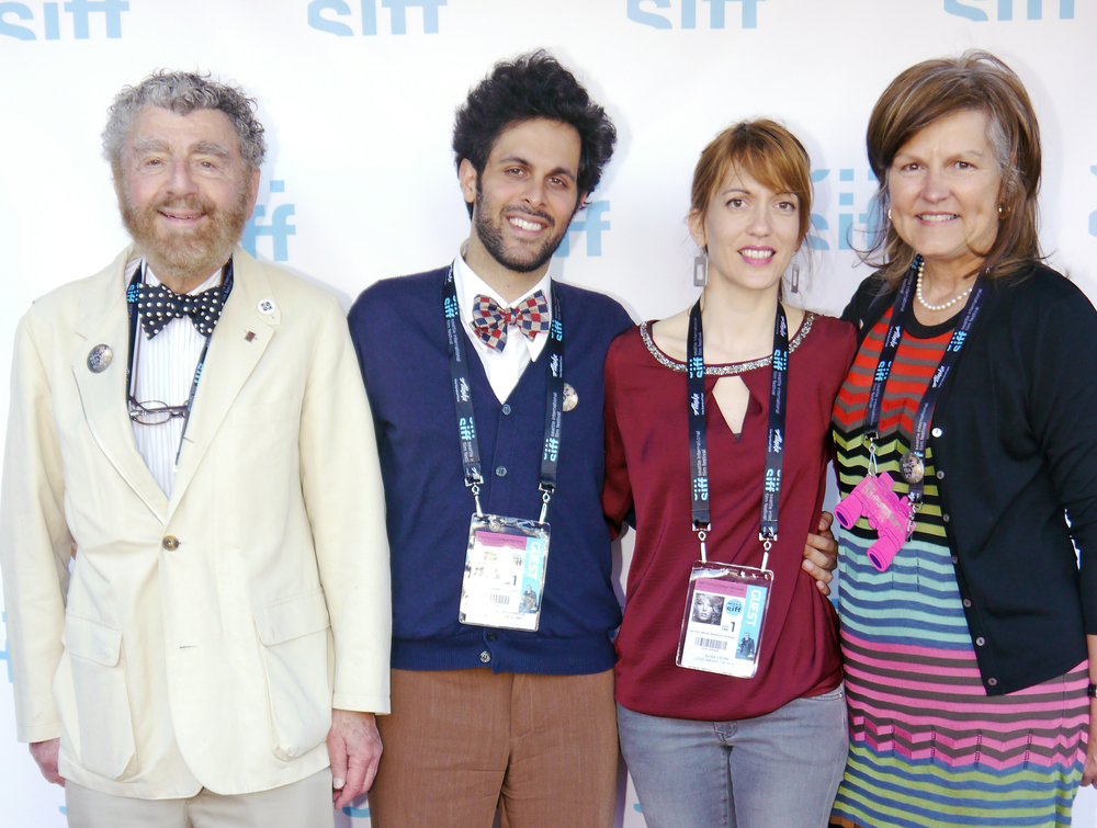 SIFF 2015 | Love Among the Ruins | June 4, 2015. Producers Richard Meyer and Susan Harmon, Director Massimo Alì Mohammad and Art Director Elisa Leonini. Photo Credit: Kalani Akuna