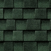 GAF Timberline HD - Lifetime Shingles   Hunter Green