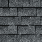 GAF Timberline Natural Shadow - Lifetime Shingles   Pewter Gray
