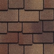 GAF Woodland Lifetime Designer Shingles   Tuscan Sunset