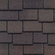 GAF Woodland Lifetime Designer Shingles   Woodberry Brown