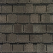 GAF Camelot II Lifetime Designer Shingles   Weathered Wood