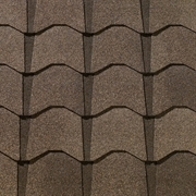 GAF Monaco Lifetime Designer Shingles    Monticello Brown