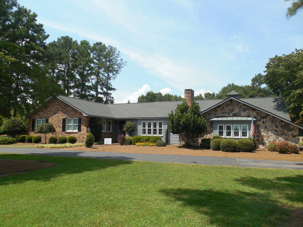 Eastover, NC (Front Elevation)   GAF Timberline HD Pewter Gray