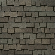 GAF Glenwood Designer Lifetime Shingles   Weathered Wood