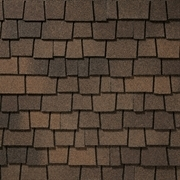 GAF Glenwood Designer Lifetime Shingles   Adobe Clay