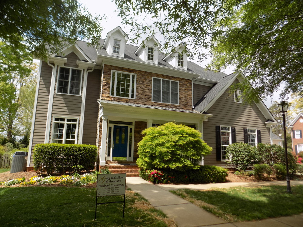 Huntersville, NC   GAF Timberline HD Charcoal