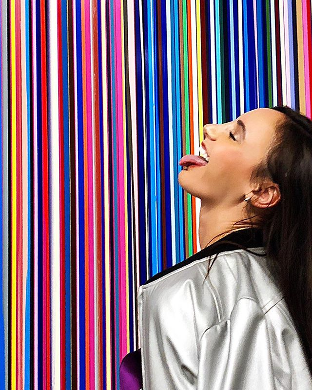 Taste the Rainbow. 🌈  @iandavenportofficial #Horizons @dallascontemporary