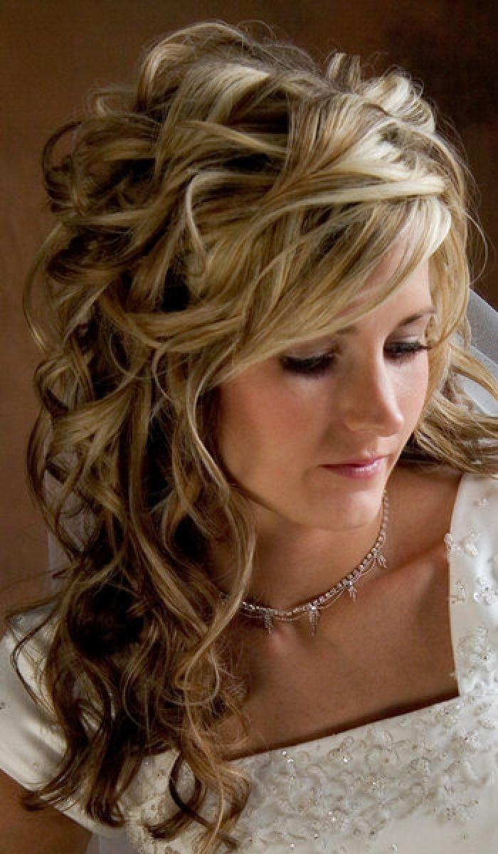 Wedding hairstyles for shorter length hair