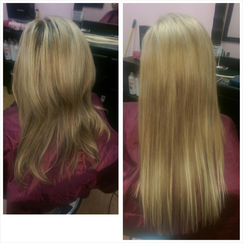 Micro Bead Hair Extensions In Las Vegas Nv Stevee Danielle Hair