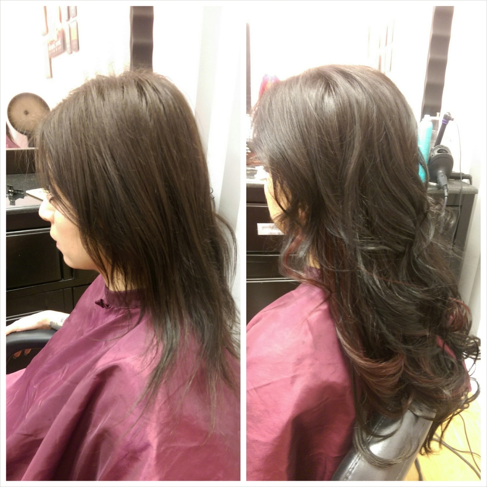 Micro Bead Hair Extensions In Las Vegas Nv Stevee Danielle Hair