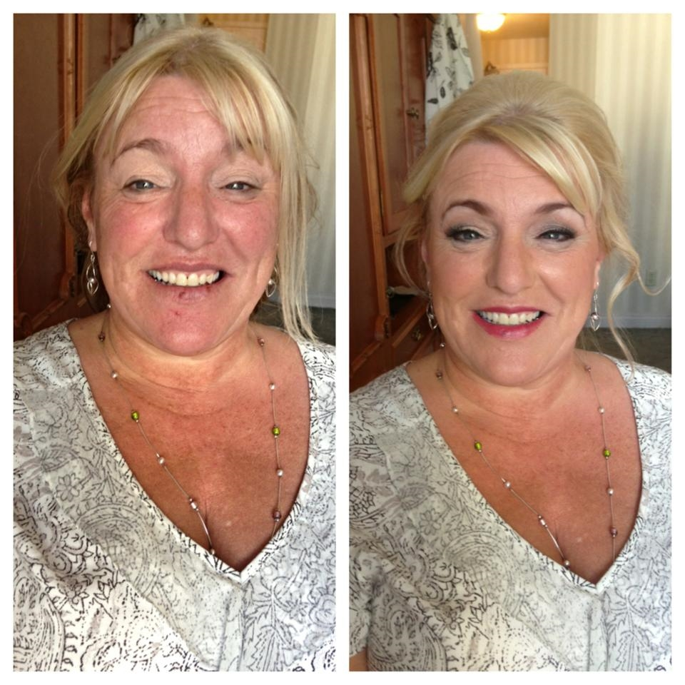 Mother of the bride hair and makeup