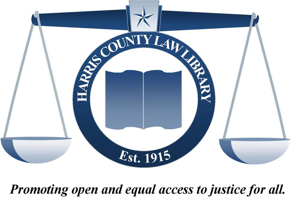 Harris County Law Library Logo