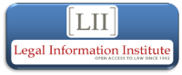 Link to Cornell University School of Law Legal Information Institute