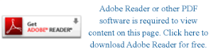 Adobe Reader or other PDF software is required to view content on this page. Click here to download Adobe Reader for free.