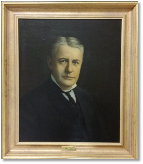 Portrait of Judge James L. Autry - Click to enlarge.