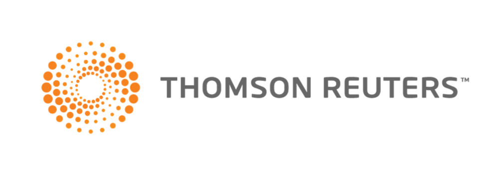 Thomson Reuters logo with link to company homepage.