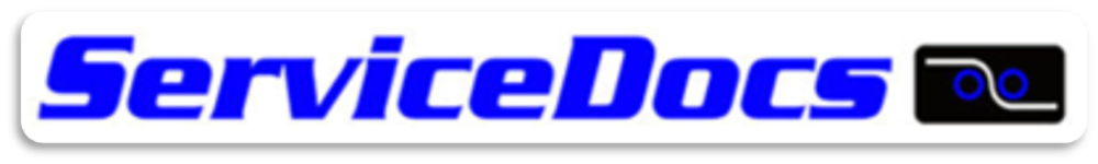 ServiceDocs, Inc. logo with link to company website.