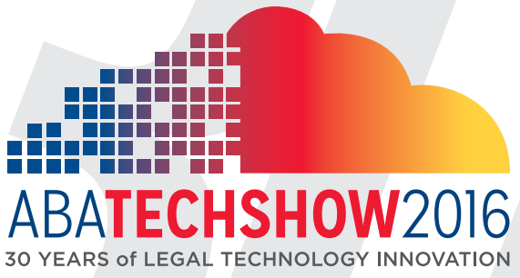 Logo - ABA TECHSHOW 2016; click to visit ABA TECHSHOW website