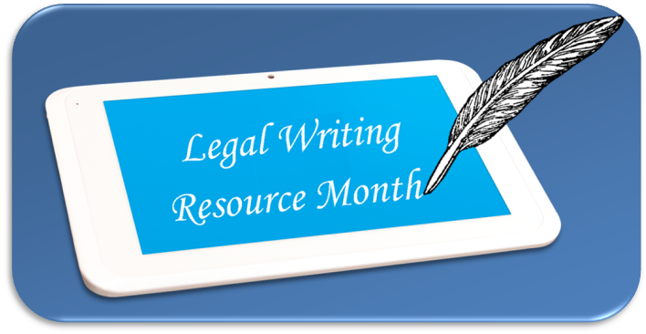 Legal Writing Resource Month at the Harris County Law Library featuring Bryan Garner on Words.
