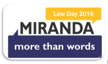 Law DayCelebration: Houston Bar Association Reenactment of Miranda v. Arizona