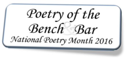 Poetry of the Bench and Bar: The Things That Lawyers Know About Earth Day