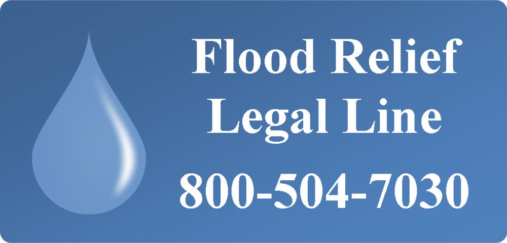 Flood Relief Legal Line 800-504-7030