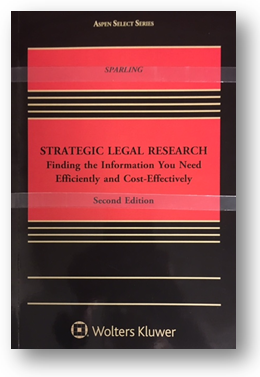 By Tobin A. Sparling Published by Wolters Kluwer Law & Business (2015) KF 240 .S63 2015